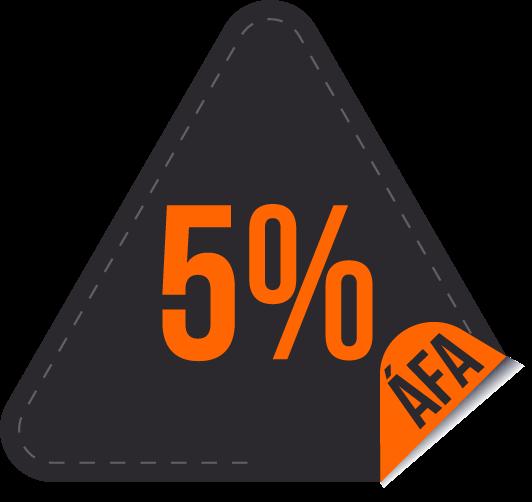 5% ÁFA